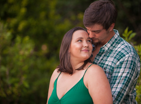Blake and Kayla's Engagement shoot