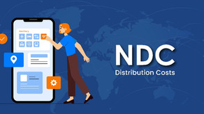 How can an airline use NDC optimally to bring down distribution costs?