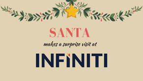 A Surprise Santa Visit