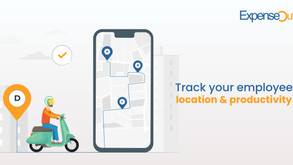 Track the location and productivity of your on-field employees with ExpenseOut.