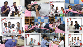 Blood Donation Camp: A Good Deed by Infiniti Software Solutions To Serve Humanity