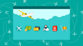 How does shopping affect revenue management in an airline?