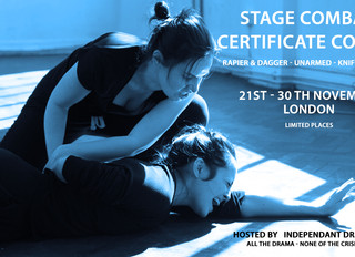 Stage Combat Certificate Course
