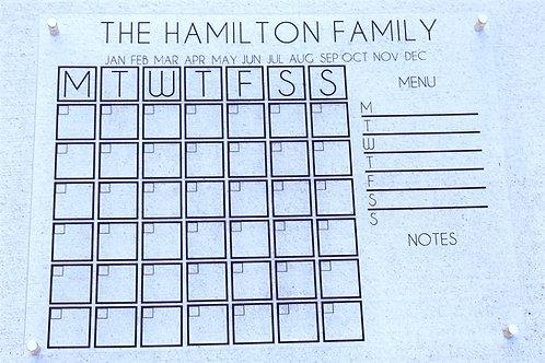 The Forever Calendar
