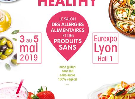 Salon Go Healthy à l'Eurexpo (les 3, 4 et 5 mai)