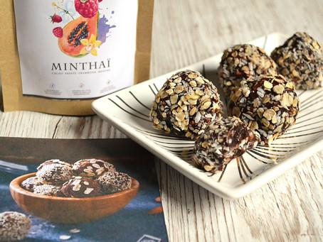 Mélanie et son Kokoa Minthaï en cuisine : Energy balls