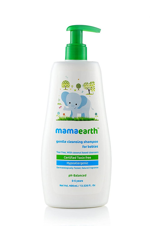 Mamaearth Gentle Cleansing Natural Baby Shampoo