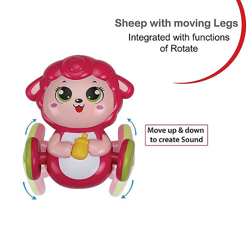 Sheep Themed Rattle