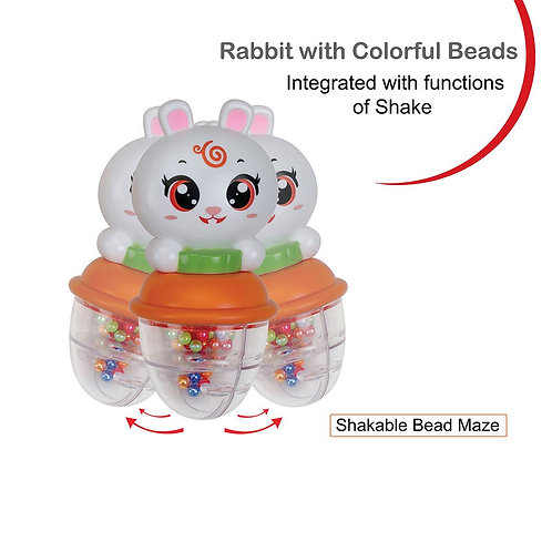 Rabbit Themed Rattle
