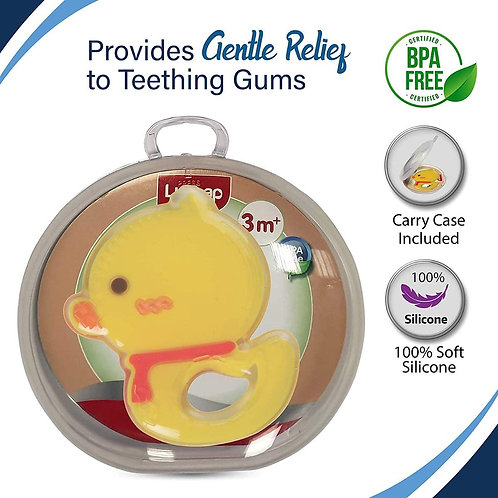 Yellow Duck Silicone Teether