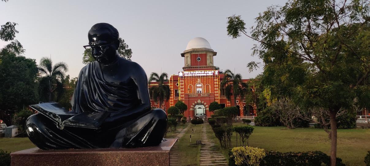 Anna Statue infront of CEG