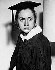 Chairman of the Wellesley College Republican chapter Hillary Clinton