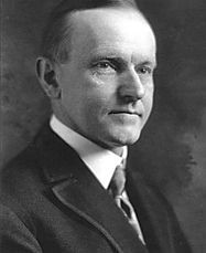 Former College Republican member and 30th President of the United States, Calvin Coolidge
