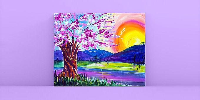 Sunset Blossom
