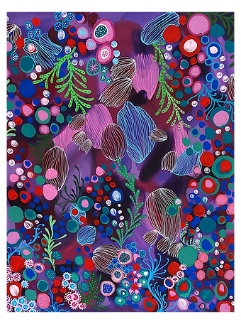 Crazy Coral Painting