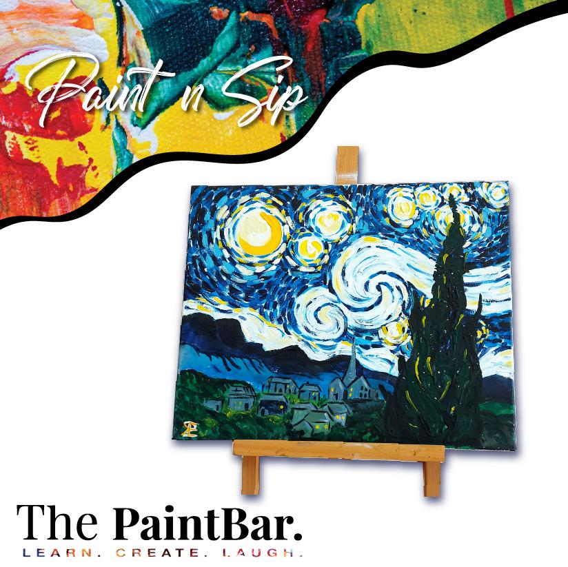 Van Gogh - Starry Night - 17th July,