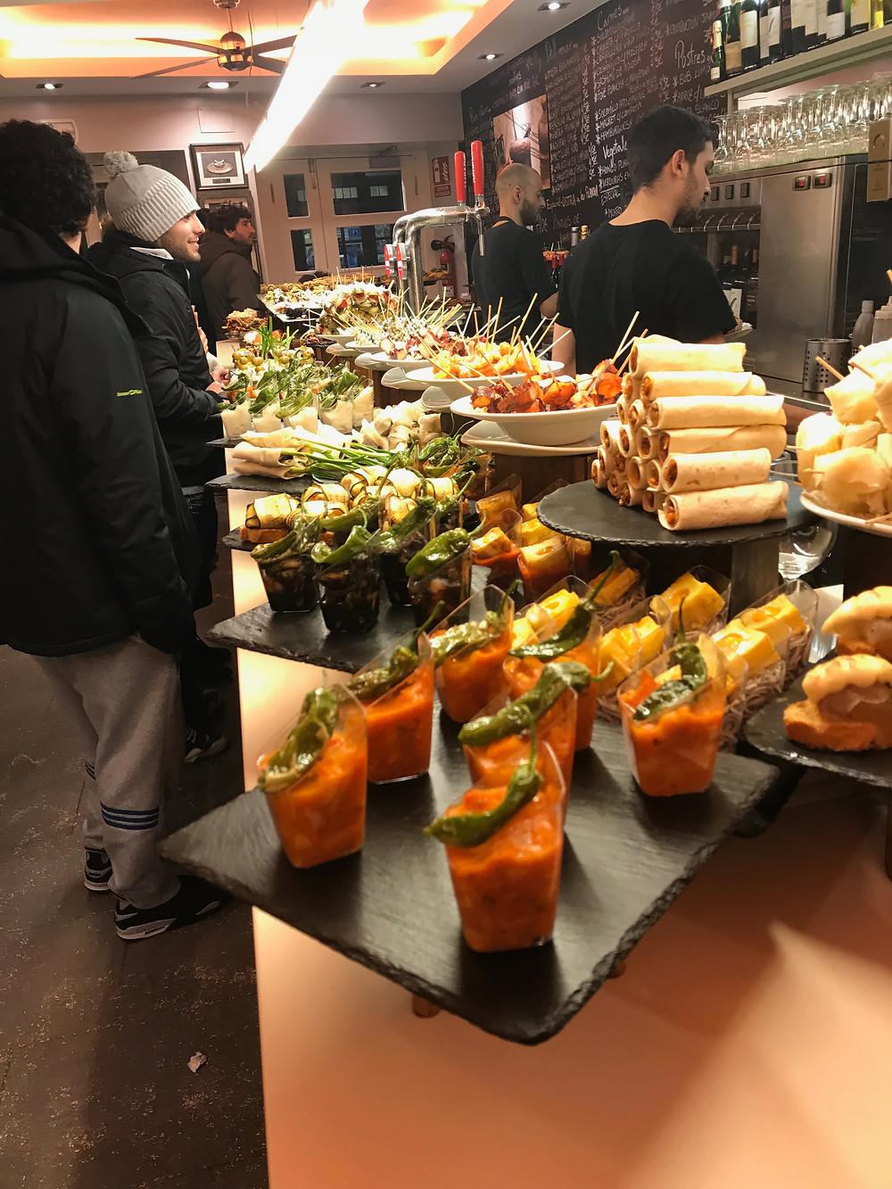Behold the world's greatest appetizer-pintxos.