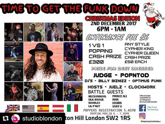 Time to Get the Funk Down-London