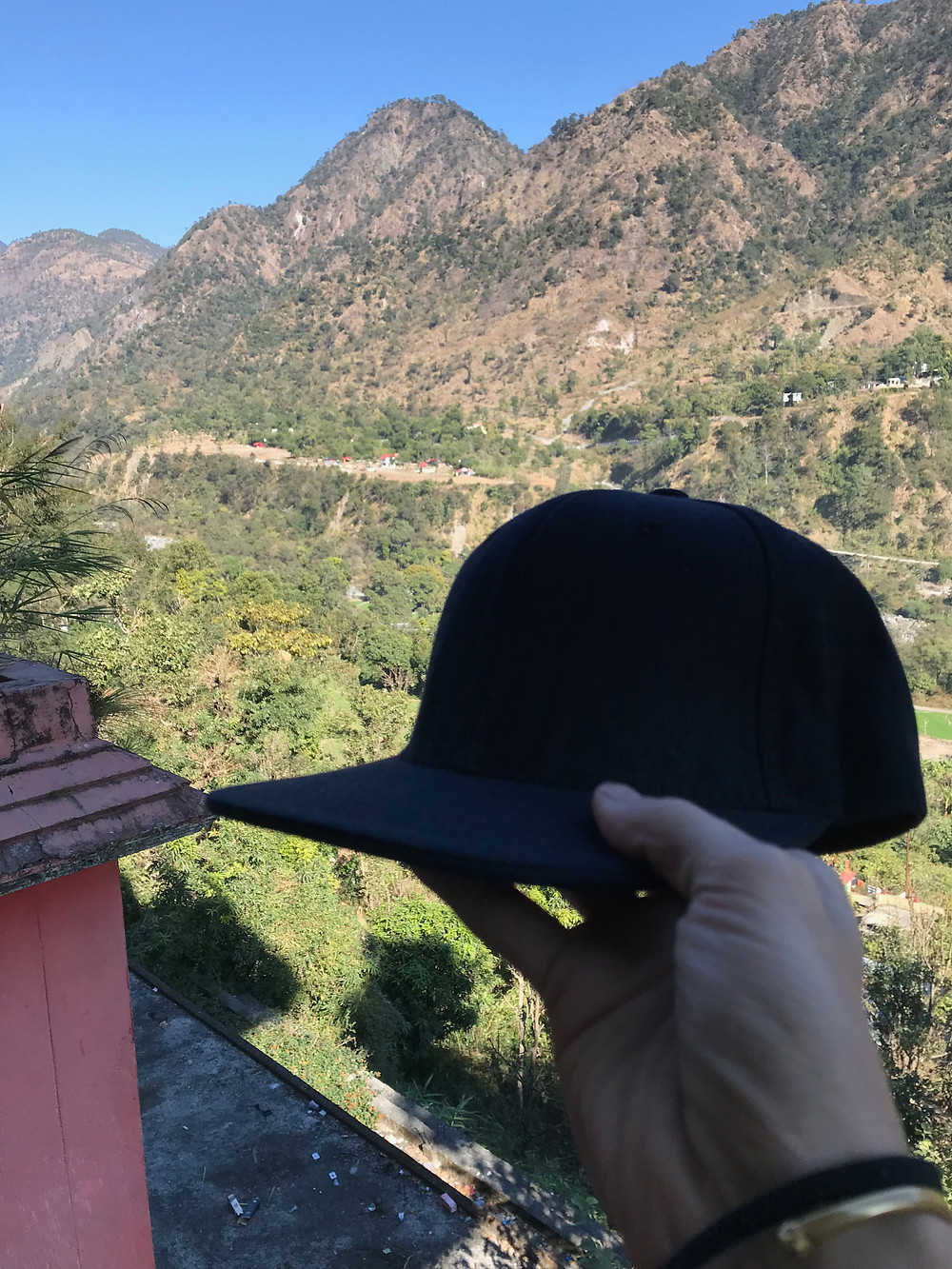 The hat belonging to my friend, WaveOMatic that has passed on plus the view of where Face of Dance was held