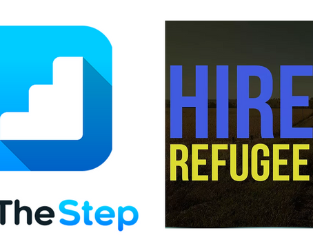 OnTheStep and Hire A Refugee Announce New Partnership
