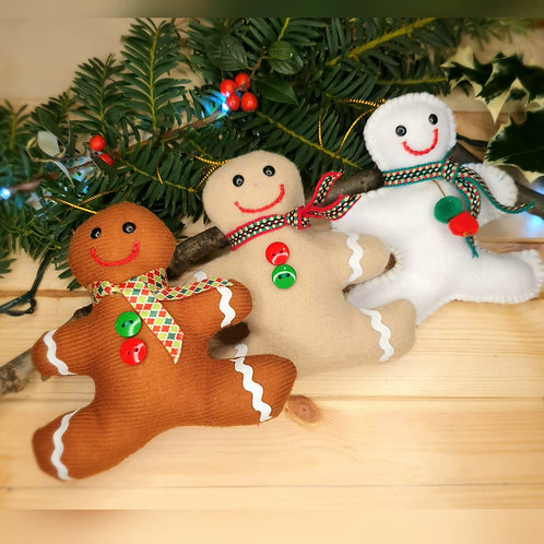 Gingerbread ChristmasTree Decorations