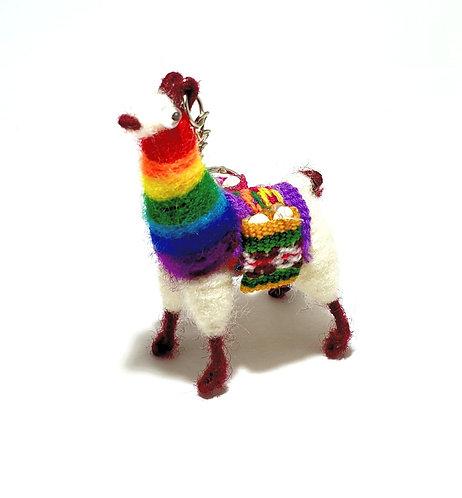 Llama Keyrings