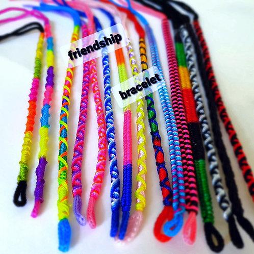 Neon Colours Friendship Bracelets