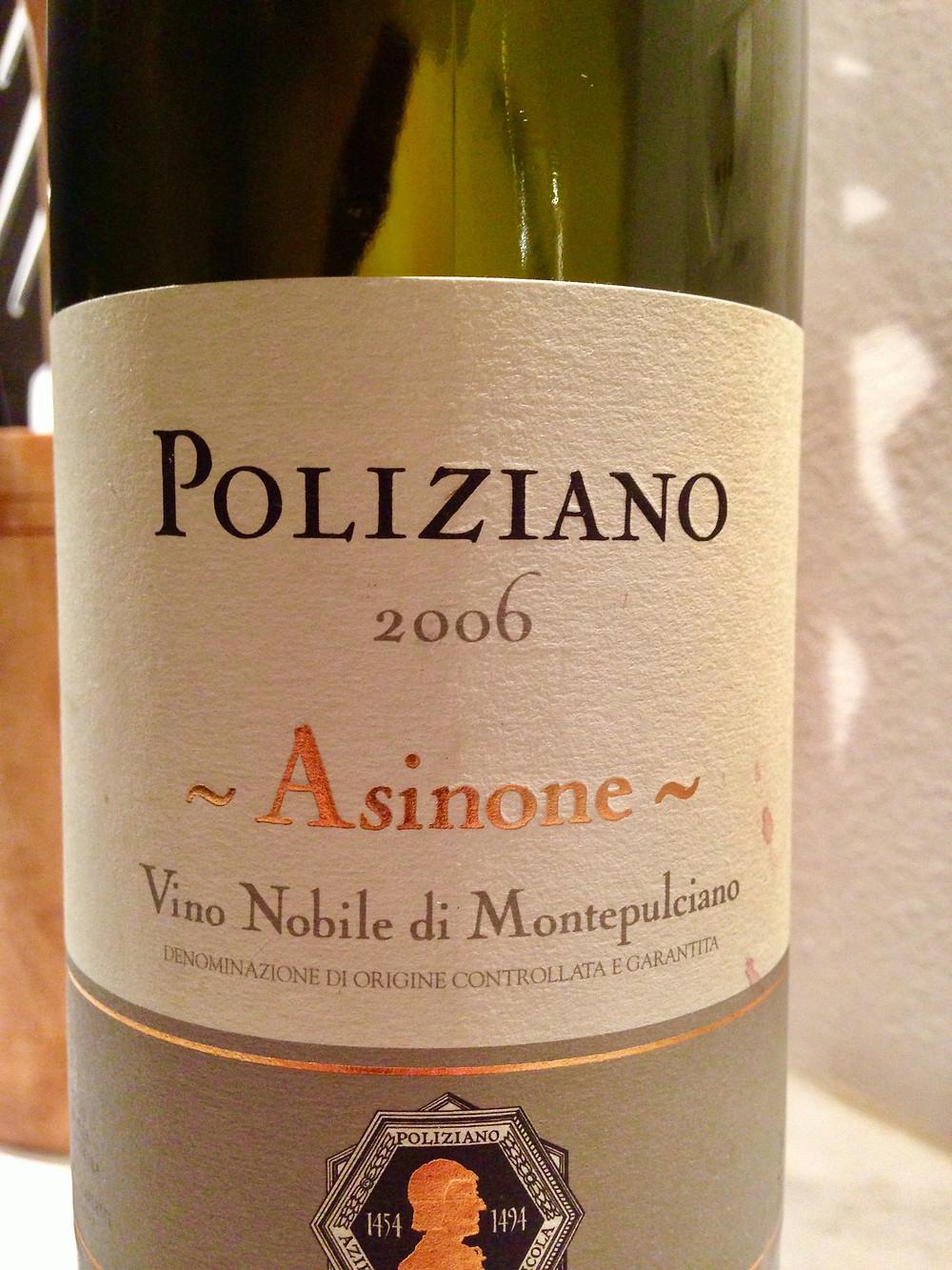 red wine Montepulciano Tuscany Italy