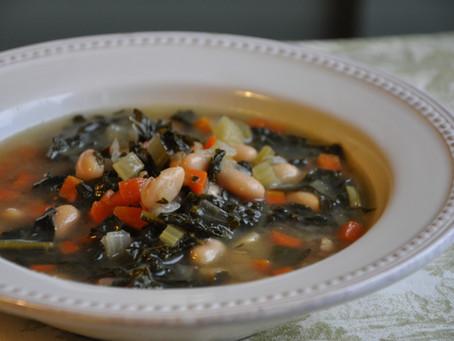 Vegetable & White Bean Soup