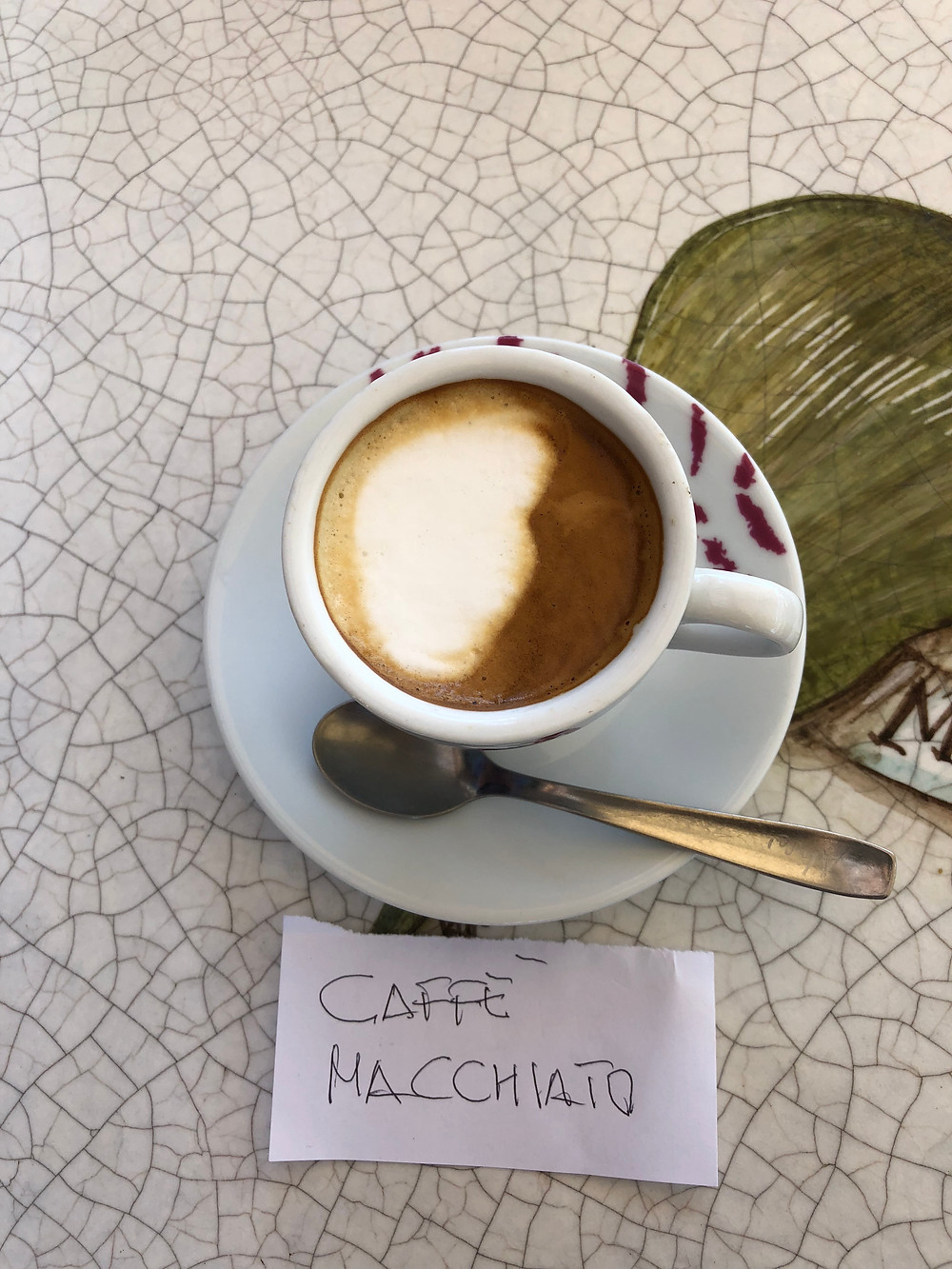 Caffe' Macchiato
