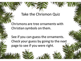 Take the Chrismon Quiz