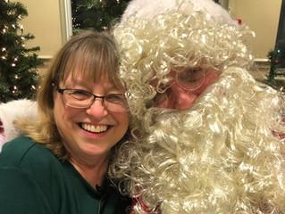 Come see Santa on Dec 20, 1:00 at the Loffler Center