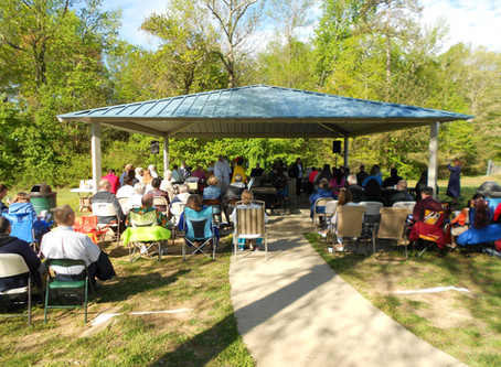 Easter Son Rise Service in the Park