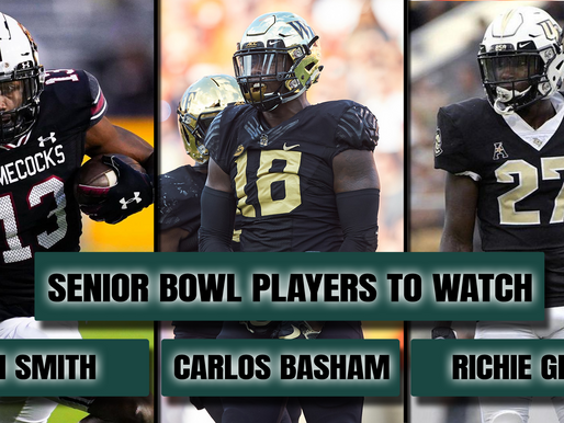 NFL Draft: Senior Bowl Preview - Sleepers and Stars to Watch this Week