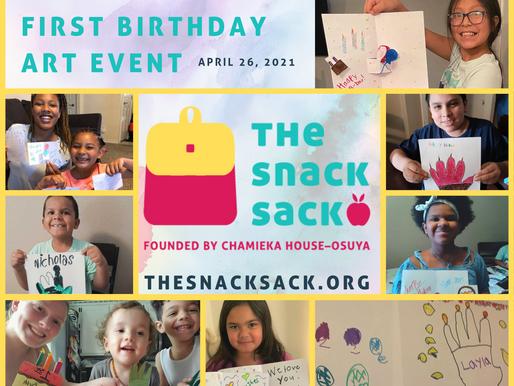 A Very Snack Sack Birthday