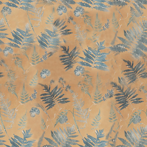 Falling Ferns Fabric