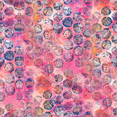 Pink Bubble Fabric