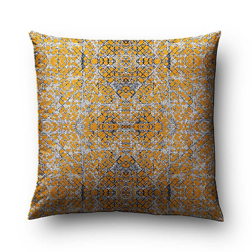 India Print Pillow