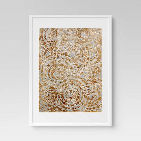 Yellow Batik Print