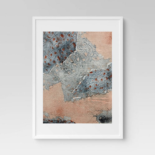 Striped Tissue Print