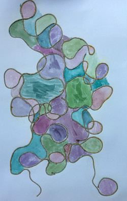 Water Color Shapes