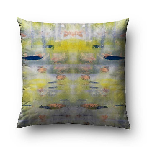 Water Lilies Mirror Pillow