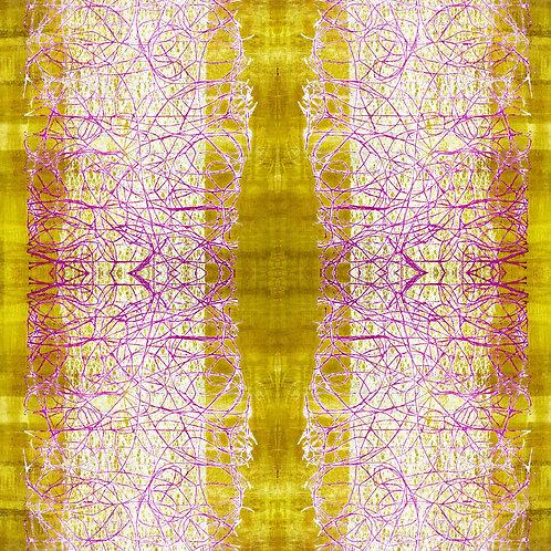 Yellow Road Fabric
