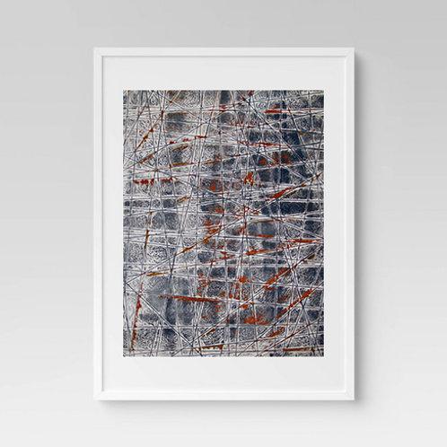 Texturized Rust Print