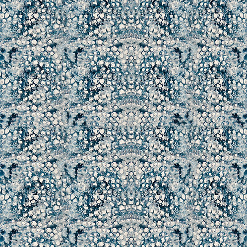 Winter Bubbles Fabric