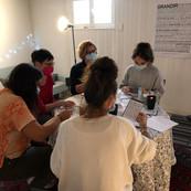 atelier d'écriture à la Maison des mots.