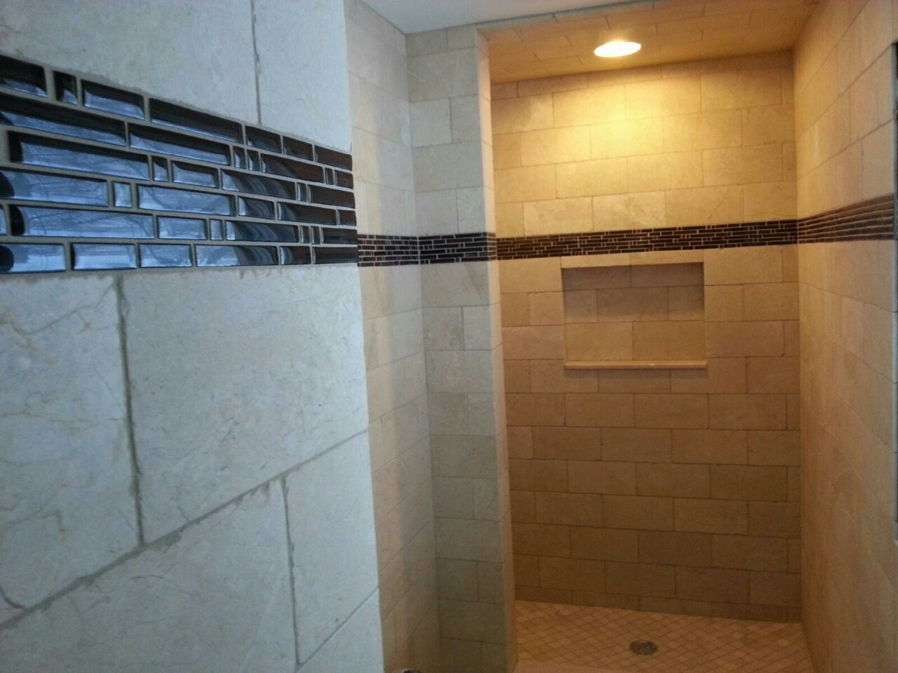 Bathroom walk in shower