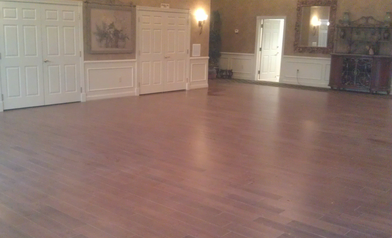 Dance hall floor
