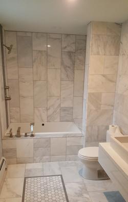 Complete remodel bathroom