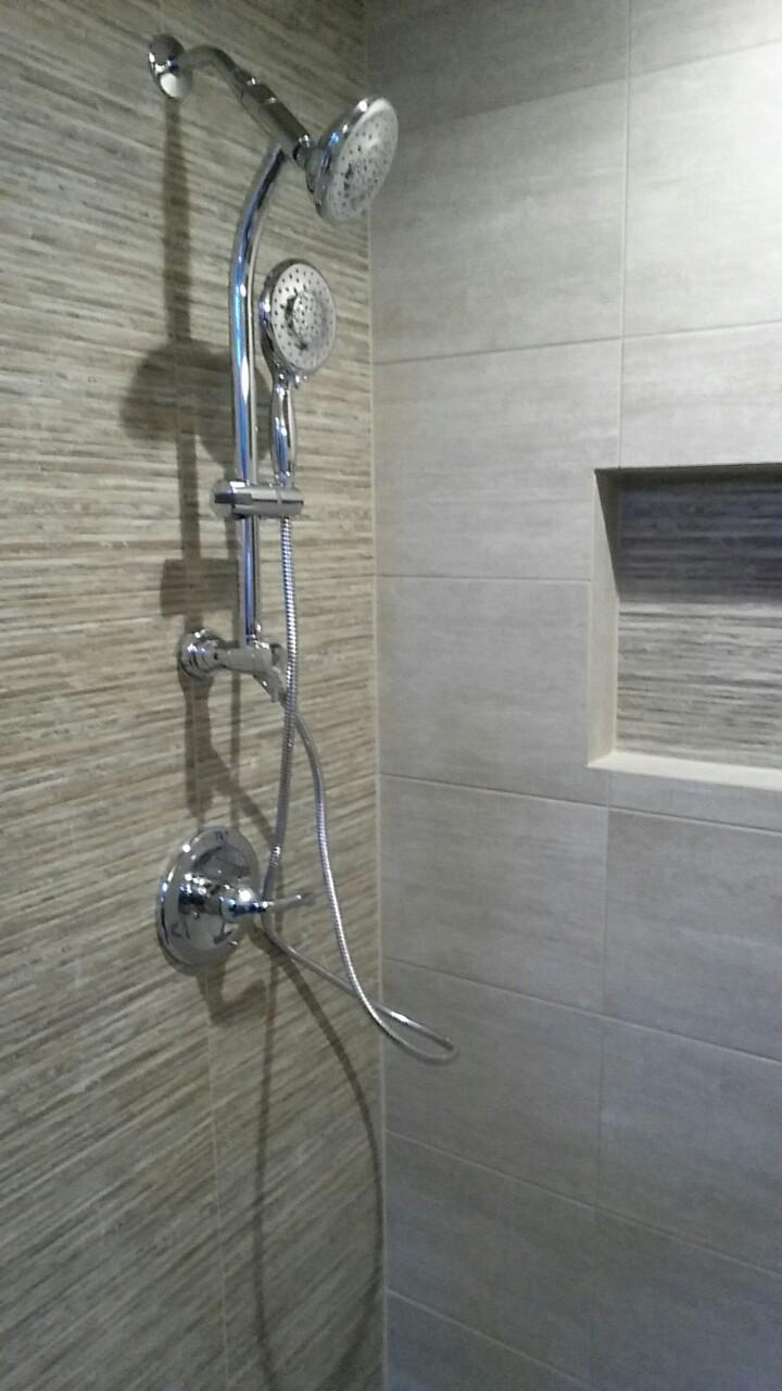 Stall shower
